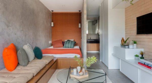 Konsep Desain Apartemen Kecil Nyaman